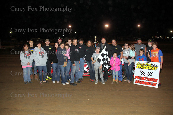 May 5, 2018 - Sprints and UMP Modifieds