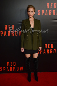 WASHINGTON, DC - FEBRUARY 15: Red Sparrow Movie Premiere at the Newseum  on Thursday, February 15, 2018, in Washington, DC, USA. (Photo by Barry Aberdeen / RedCarpetImages.net)