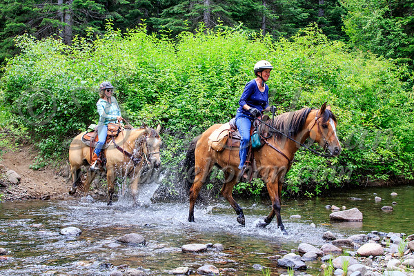 Relays and Trail Riders at Nile Creek