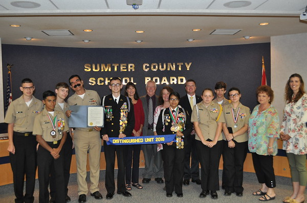 2018 - Resolution for South Sumter High School NNDCC Team