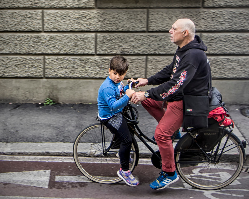 Merit, Rosemary McGeachie - Hitching a ride with Il Nonno in Florence