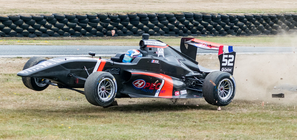 Honours, David Clearwater - Milesi flies at Teretonga