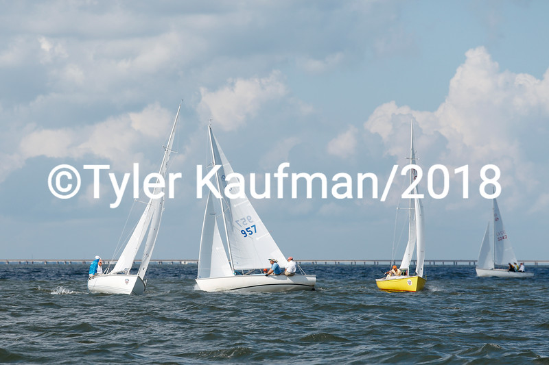 Rhodes 19 Nationals at Southern Yacht Club 10.7.18 Photo: Tyler Kaufman/©2018