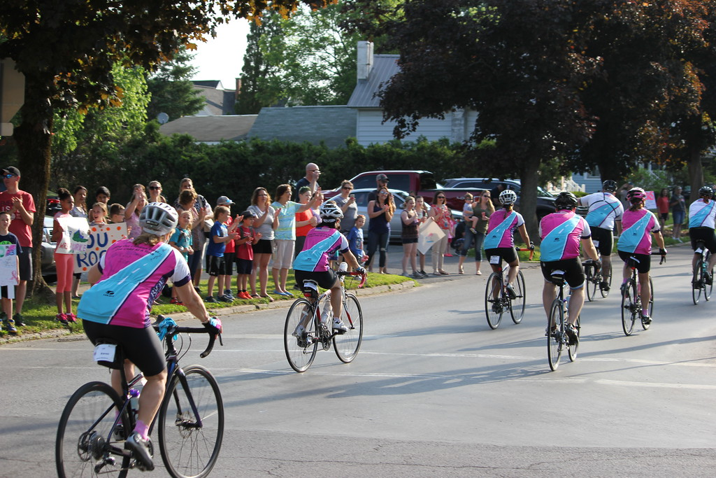 . Charles Pritchard - Oneida Daily Dispatch The Ride for Missing Children makes its way through Oneida and starting the 80 mile journey on Friday, June 1, 2018.