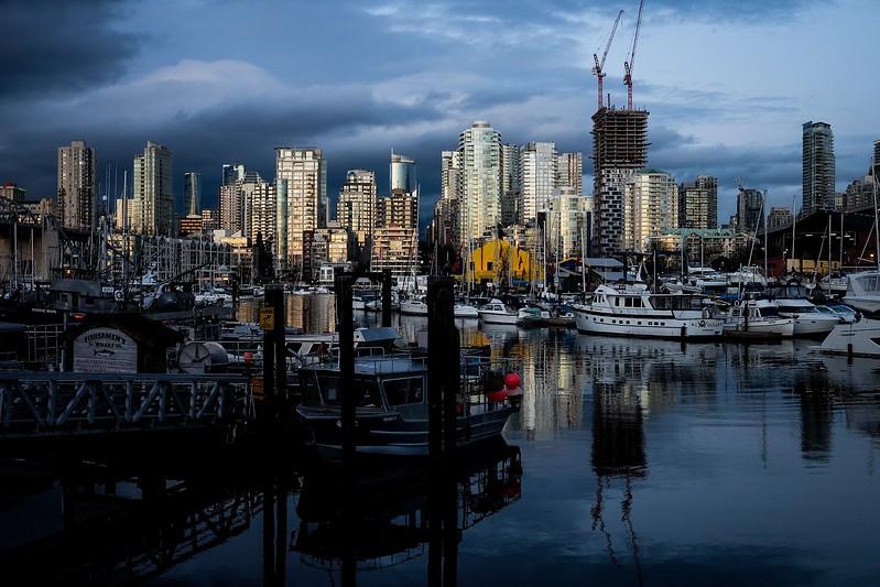 February 4, Vancouver, False Creek, Fisherman's Wharf & Granville Island
