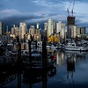 February 4, Vancouver, False Creek, Fisherman's Wharf & Granville Island