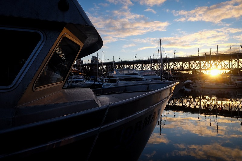 February 10, Vancouver, Fisherman's Wharf, Granville Island
