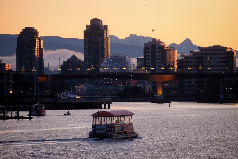 February 11, Vancouver, False Creek