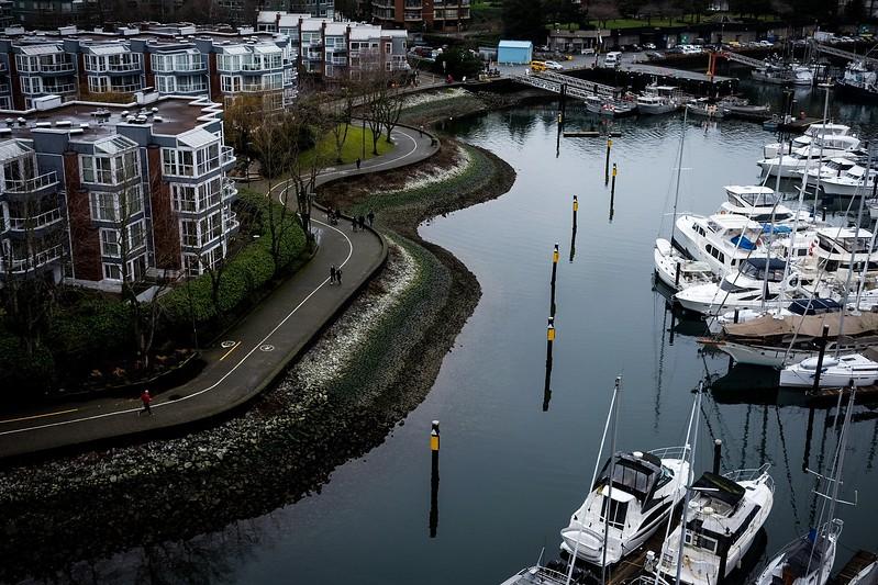 February 5, Vancouver, Granville Island