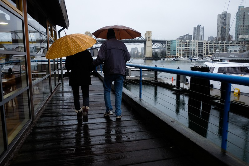 February 17, Vancouver, Granville Island