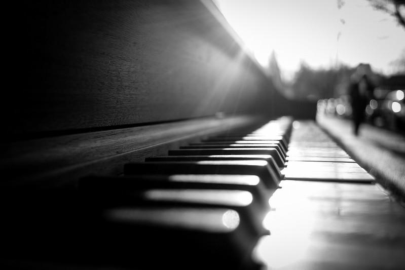 January 16, Abandoned Piano at 7th & Columbia