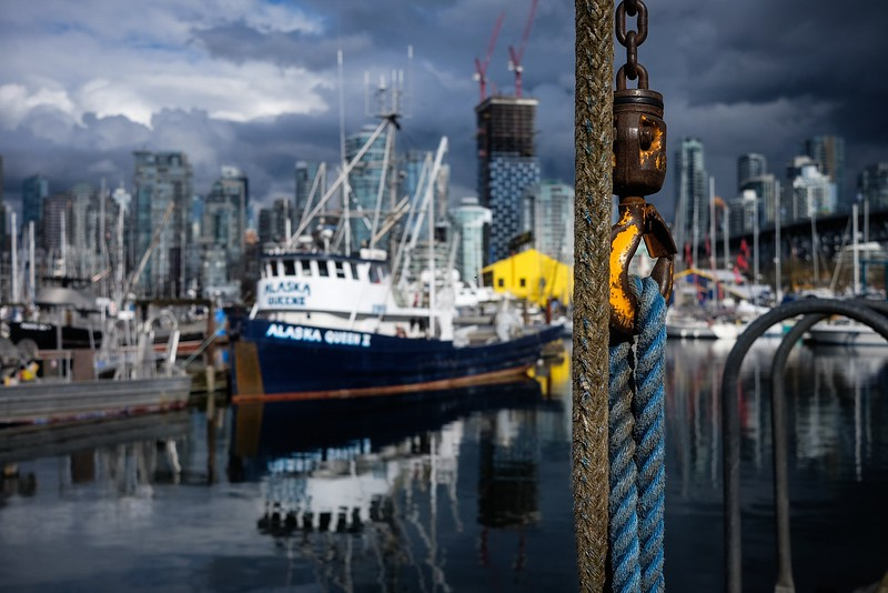 March 14, Vancouver, Fisherman's Wharf, Granville Island