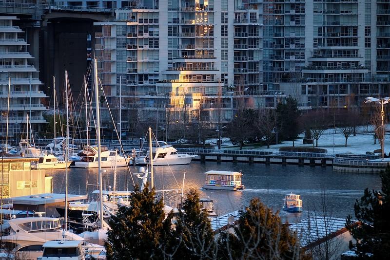 February 18, Vancouver, False Creek