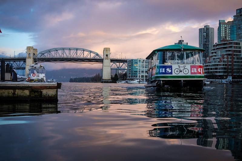 January 30, Vancouver, False Creek, Granville Island