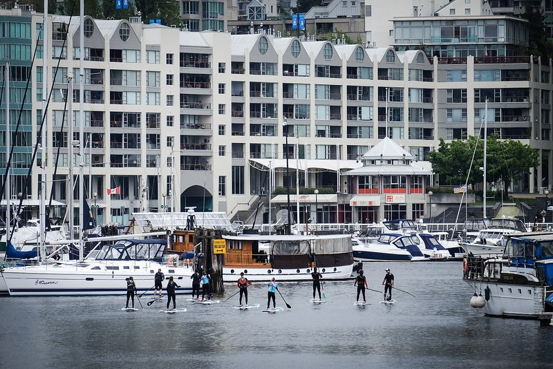 May 7, Vancouver, Granville Island