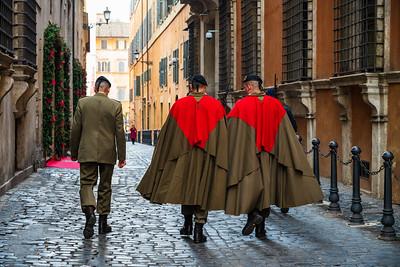 Italians have wonderful uniforms