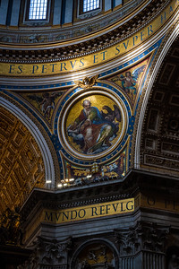 Visiting St Peter's Basilica is a jaw-dropping experience. No photograph or film can prepare you for the scale and glory.