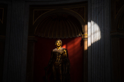 Numerous priceless works of art populate the Vatican Museum