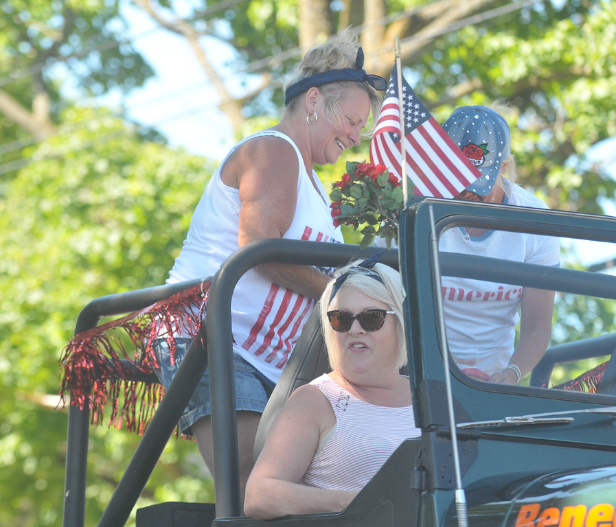 . Lisa Yanick Litwiller - Morning Sun -   The 2018 Rosebush Fourth of July parade.
