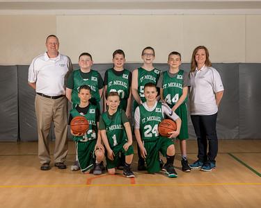 2018 SMS Basketball Team Shots