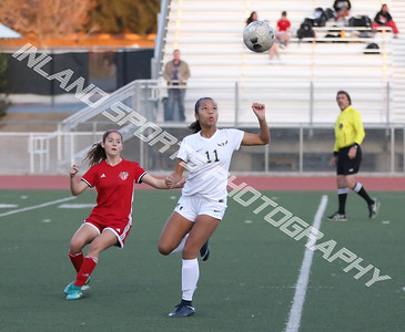 Yucaipa vs REV girls soccer 2018