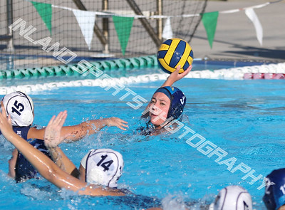 Yucaipa vs Redlands girls water polo 2018