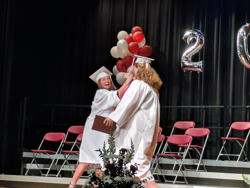. Leah McDonald - Oneida Daily Dispatch The Stockbridge Valley Central School Class of 2018 Commencement ceremony at the school on Friday, June 22, 2018.