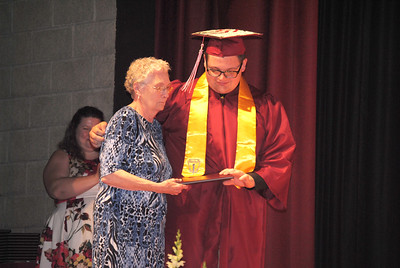Leah McDonald - Oneida Daily Dispatch The Stockbridge Valley Central School Class of 2018 Commencement ceremony at the school on Friday, June 22, 2018.