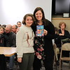 "Jennifer Lake is presented with ""Squishy Taylor and a Question of Trust"" by Zoe Brosan from Lycoming Valley Intermediate School."