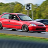 Red Civic No Number