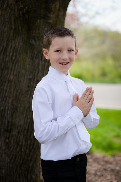 5.5.18 Jack Sunbury First Holy Communion
