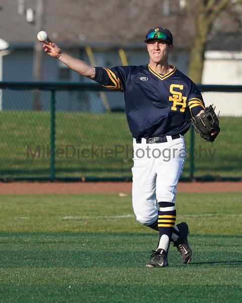 Siena Heights vs Hillsdale baseball