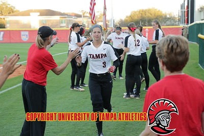 2/16/2018; Lakeland, Fla.; University of Tampa softball at Florida Southern College