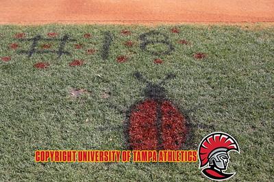 4/28/2018; Tampa, Fla.; University of Tampa softball vs. Eckerd College on senior day.