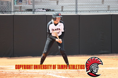 4/21/2018; Tampa, Fla.; University of Tampa softball vs. Saint Leo.