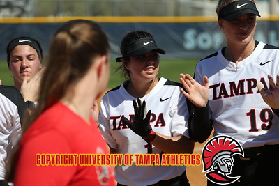 2/10/2018; St. Petersburg, Fl.; University of Tampa softball vs. Valdosta State University played at Eckerd College.