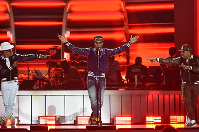 LAS VEGAS, NV - November 17:  Soul Train Music Awards at Orleans Arena on Saturday, November 17, 2018, in Las Vegas, NV, USA. (Photo by: Aaron J. / RedCarpetImages.net)
