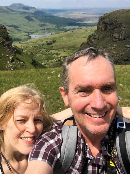 Drakensberg Selfie
