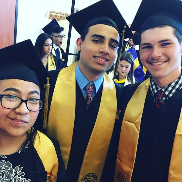 2018 Spring Woods High Graduation
