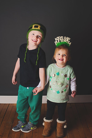 2018 St Patty's Day Barnwell Family