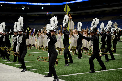 Vandegrift High School competes in the final round of the 6A UIL State Marching Band Championship, Tuesday, Nov. 6, 2018. The Vipers ended their season by earning third place in the competition.