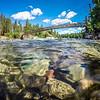 at riverside bowl and pitcher state park in spokane washington