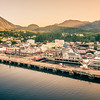 ketchikan alaska downtown of a northern USA town
