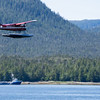 Single Prop Airplane Pontoon Plane Water Landing Alaska Last Frontier
