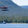 Single Prop Airplane Pontoon Plane Water Landing Alaska Last Frontier