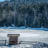 beautiful nature and scenery around snowshoe ski resort in cass west virginia