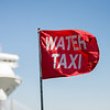 water taxi flag at port of chaleston