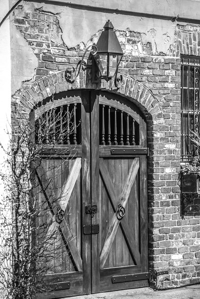 historic charleston south carolina downtown and architetural details