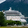 skagway alaska in june, usa northern town near canada