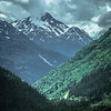 rocky mountains nature scenes on alaska british columbia border